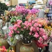 kwiaty sztuczne kolorowe