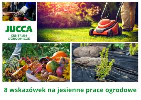 8 wskazówek na jesienne prace ogrodowe